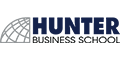 Hunter Business School logo
