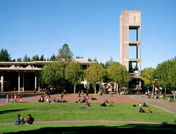 Evergreen State College campus