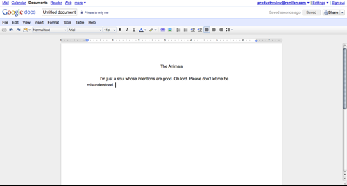Online Word Processors Google Docs Reviewed - Google docs word processor