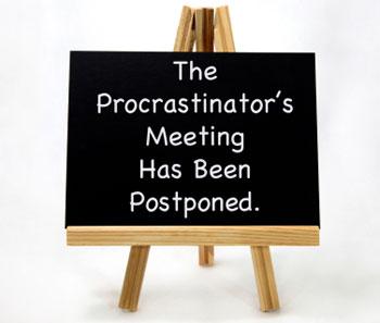 Procrastination/transcript