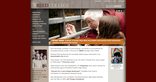 College Clone: Unauthorized Website Steals College's Identity