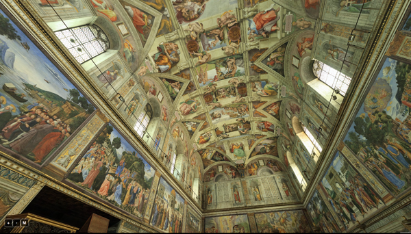 Vatican Museum Sistine Chapel Virtual Tour