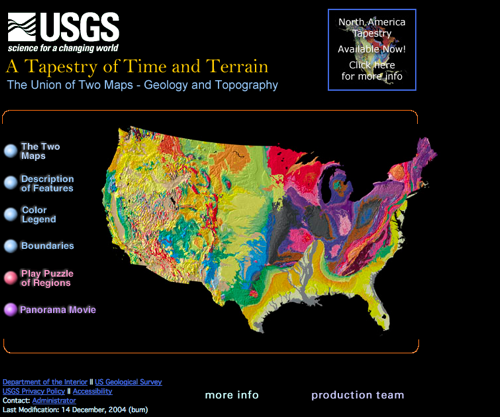 usgs tapestry map