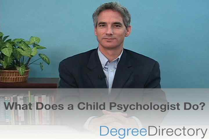 What Does a Child Psychologist Do? - Video