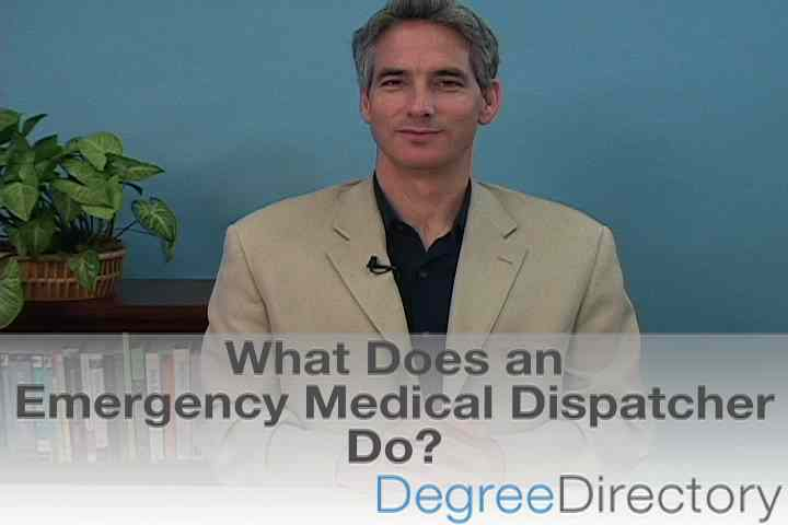What Does an Emergency Medical Dispatcher Do? - Video