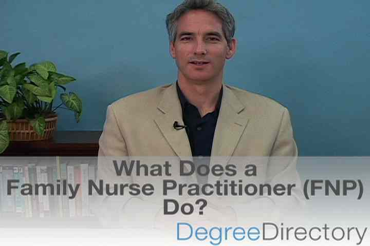 What Does a Family Nurse Practitioner (FNP) Do? - Video