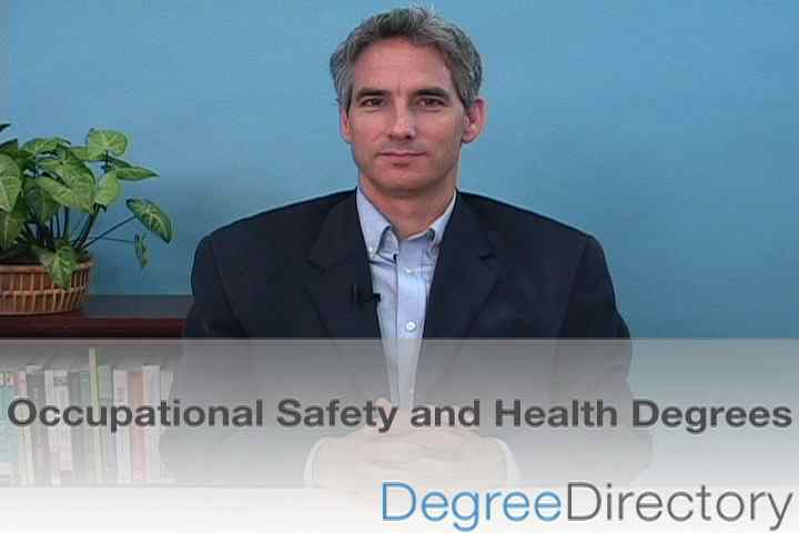 Occupational Safety and Health Degrees - Video
