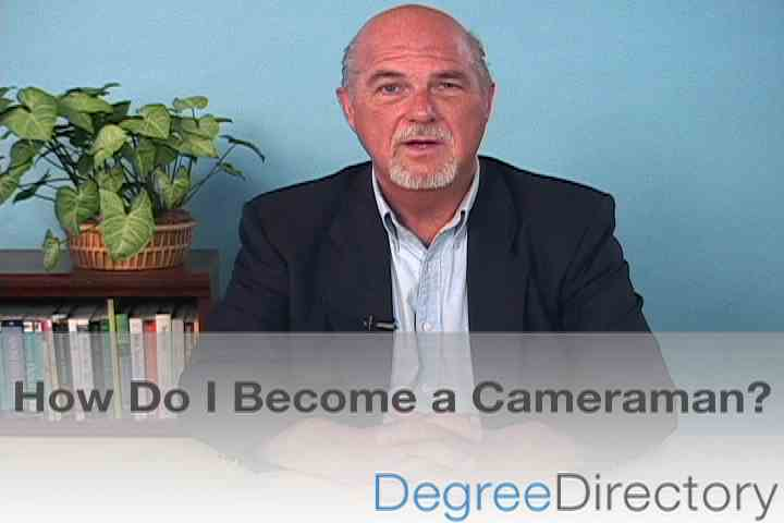 How Do I Become a Cameraman? - Video