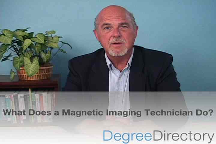 What Does a Magnetic Imaging Technician Do? - Video