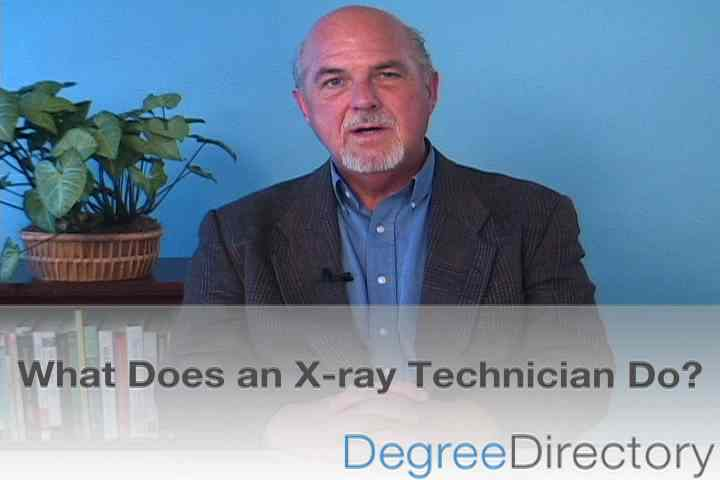 What subjects do you need to become an X-ray technican?