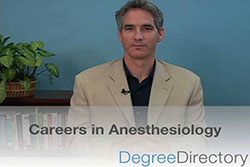 Careers in Anesthesiology - Video