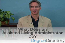What Does an Assisted Living Administrator Do? - Video