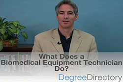 What Does a Biomedical Equipment Technician Do? - Video