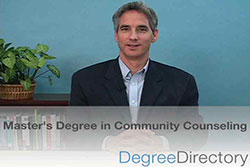 Master's Degree in Community Counseling - Video