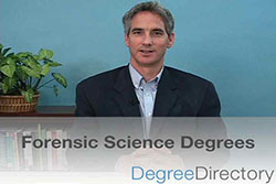 Forensic Science Degrees - Video