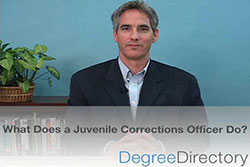 What Does a Juvenile Corrections Officer Do? - Video