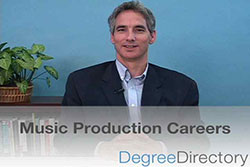 Music Production Careers - Video