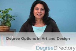 Art and Design Degree Options - Video