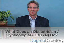 What are the Job Duties of an Obstetrician/Gynecologist (OBGYN)? - Video