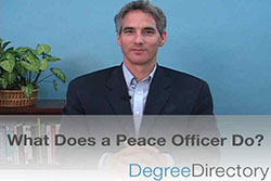 What Does a Peace Officer Do? - Video