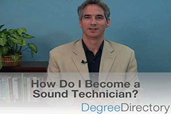 How Do I Become a Sound Technician? - Video