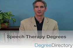 Speech Therapy Degrees - Video