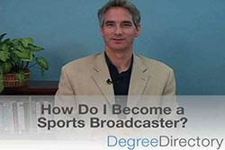 How Do I Become a Sports Broadcaster? - Video