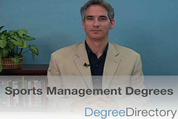 Sports Management Degrees - Video