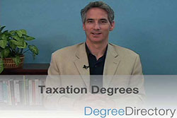 Taxation Degrees - Video
