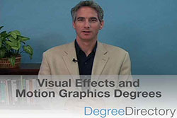 Visual Effects and Motion Graphics Degrees - Video