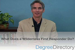 What Does a Wilderness First Responder Do? - Video