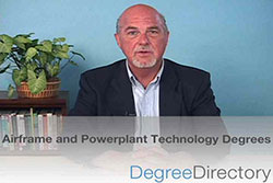 Airframe and Powerplant Technology Degrees - Video