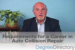 Requirements for a Career in Auto Collision Repair - Video