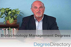 Biotechnology Management Degrees - Video