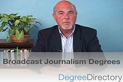Broadcast Journalism Degrees - Video Preview