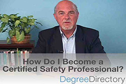 How Do I Become a Certified Safety Professional? - Video