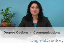 Communications Degree Options - Video
