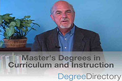 Master's Degrees in Curriculum and Instruction - Video