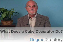 What Does a Cake Decorator Do? - Video