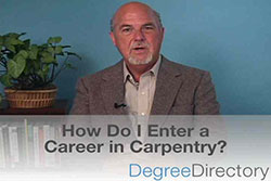 How Do I Enter a Career in Carpentry? - Video