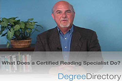 What Does a Certified Reading Specialist Do? - Video