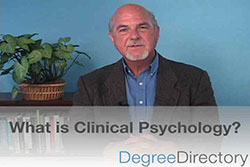 What is Clinical Psychology? - Video