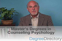 Master's Degrees in Counseling Psychology - Video
