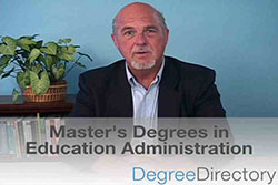 Master's Degrees in Education Administration - Video
