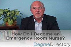 How Do I Become an Emergency Room Nurse? - Video