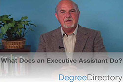 What Does an Executive Assistant Do? - Video