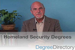 Homeland Security Degrees - Video