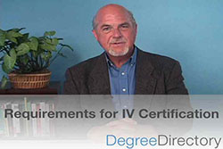Requirements for IV Certification - Video