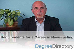 Requirements for a Career in Newscasting - Video