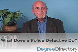 What Does a Police Detective Do? - Video